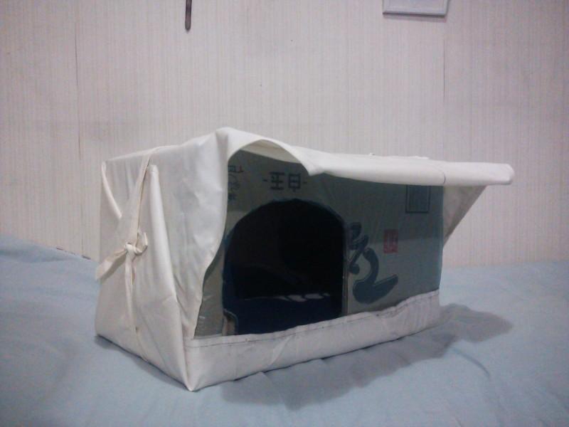 猫ちゃん用段ボールハウスの作り方8