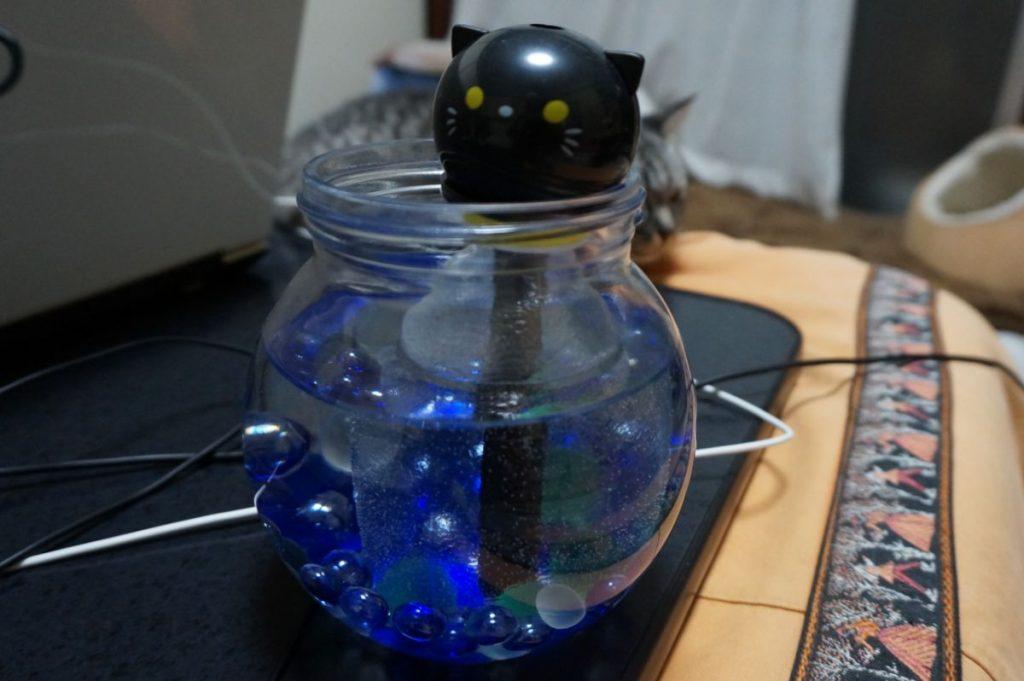 Daisoのペットボトル式加湿器(300円)をカスタマイズして長時間給水なしにしてみたの画像|Ordinary Life